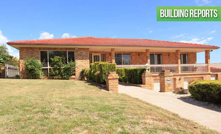 Building reports Canberra